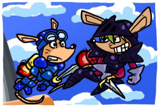 Rocket Knight Adventures by theEyZmaster