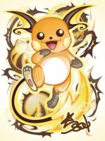 Raichu by Star-Soul