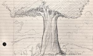 I drew another freakin tree by RedApropos
