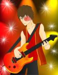 Zuko on Guitar by MMemmyMM