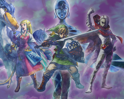 Skyward Sword by JocelynJEG