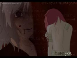 ShiHi- I hate you... by haruhishi