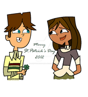 Merry St. Patrick's Day- Cody+Courtney by KennysOrangeParka