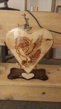 dove and roses (finished) by F-A-P-DWoods