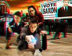 Doctor Who Tenth Doctor in 3D Anaglyph by xmancyclops