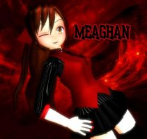 MMD-MEAGHAN [Pedido] by TaniaVocaloid