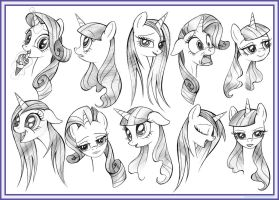 10 Rarity Heads by IIXxQwErTyxXII