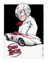 Speed Racer by Hodges-Art
