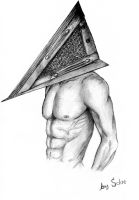 Pyramid Head by Schre