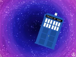 Doctor Who Wallpaper by penguinkirby
