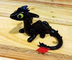 Another Toothless Sculpture by ByToothAndClaw