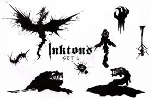 Inktons Set 1 by Visoris