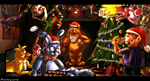 Have a Merry FNAF2 Christmas! by JokerSyndrom