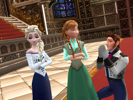 MMD Frozen - After story ? - Second chance = no ! by JackFrostOverland