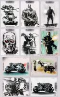 TERMINATOR: SALVATION Cards 3 by LuisDiazArtist