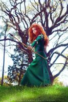 Merida Cosplay: I'll be shooting for my own hand. by Thecrystalshoe