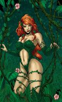 Poison Ivy COLOR by gleidsonaraujo