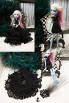 Hand Crocheted Convertible Monster High Gown by cristarowe
