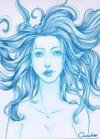 Turquoise sketch by Ccachou