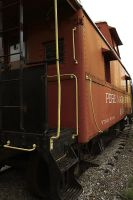 Pere Marquette Caboose #A909 2 by S-H-Photography