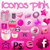 Icons pink.ICO by alenet21tutos