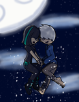 Jack and Ardilla - Up All Night by twinscover