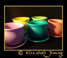 pots by goldiedarkriver