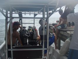 ROPanama Research: Preparing the Dive Boat by Namyr
