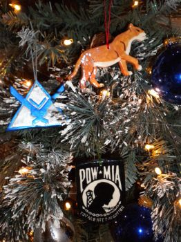 POW-MIA, Noble Team, and Lioness Ornaments by Twilit-Guardian