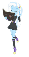 Spellcaster Trixie Vector by InvisibleInkDoodles