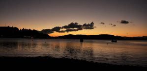 Sun Set in Oban by Norloth