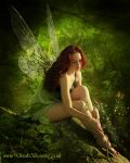 Fairy in Green by Pygar