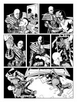 Judge Dredd - Cycle Of Violence Page 5 by allistermac