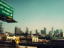 In the heat of Los Angeles by cumberries