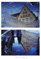 Reflections of Tallinn. by Bunnis