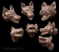 The laughing wolf by KekPafrany