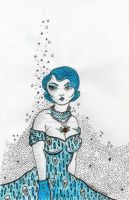 Blue Hair June 2012 by MicheleWitchipoo