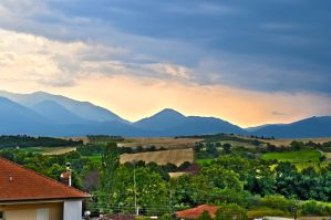 View from the balkony HDR 1 by thenata