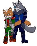 Star Wolf Star Fox slash by ~kuroirinkku on deviantART
