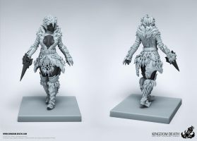White Lion Armor Kit (female) 02 by HecM