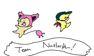 Pokemon Mystery Dungeon Explorers of Darkness Team by Cocoafox895