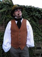 Old West-Steampunk inspired waistcoat PCW2-2 by JanuaryGuest