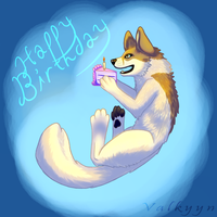 B-Day Gift for Johis by Valkyyn