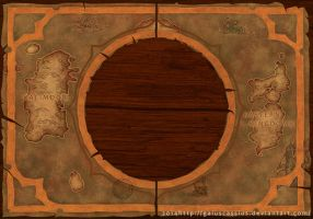 Hearthstone Box - Map of Azeroth by CassiusProps