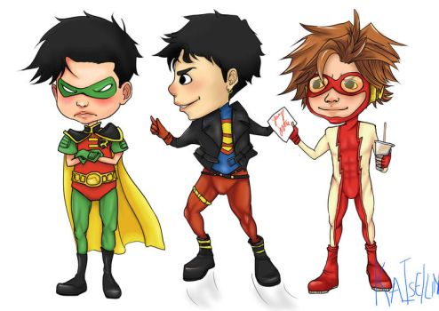 Young Justice by Kit-Kat-Paddy-Wack