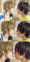 Makoharu pocky (Cosplay) by DeerAzeen