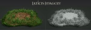 Laticis Imagery FREE Object - Grass Patch by Laticis