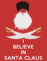 I believe in Santa by Zelir