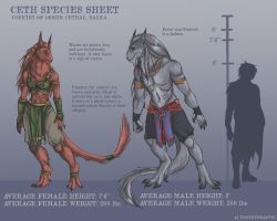 Ceth Species Sheet by ToothyBeastie