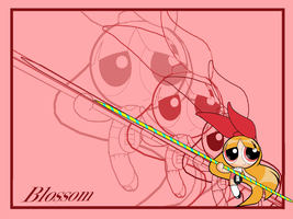 Blossom Wallpaper 1 by PowerpuffBaylee